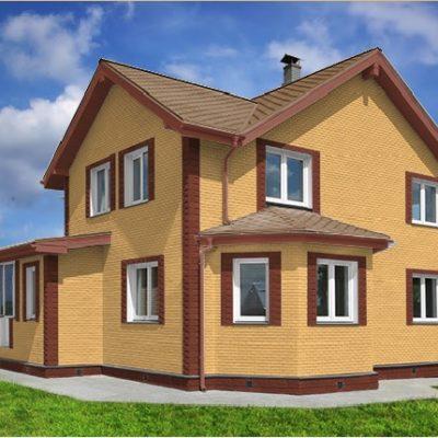 gladkij kirpich 3 400x400 - Гладкий кирпич Каньон 1-3, цена за кв.м