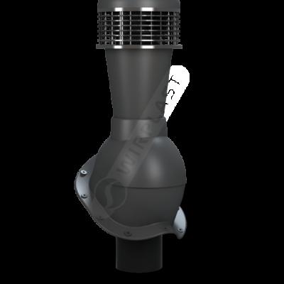 k 50 antracytowy final 400x400 - K50 Вентиляционный выход PERFEKTA с вентилятором Ø110 мм RAL 7021