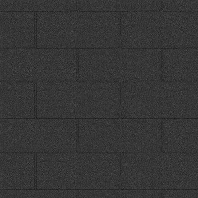 gibkaya cherepitsa icopal seriya plano xl chernyj antratsit 400x400 - Гибкая черепица Icopal серия Plano XL-Черный антрацит