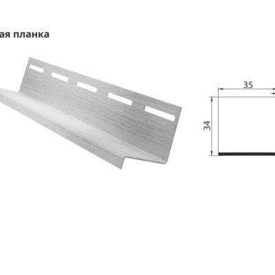 grand line slivnaya planka 400x400 - Сливная планка Grand Line