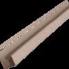 j profil vinyl on 3050 mm sandalovoe derevo 100x100 - J-профиль Vinyl-on 3050 мм- Атласный серый