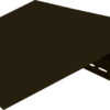 okolookonnyj profil vinyl on 3050 mm venge 100x100 - Околооконный профиль Vinyl-On 3660 мм-Белый