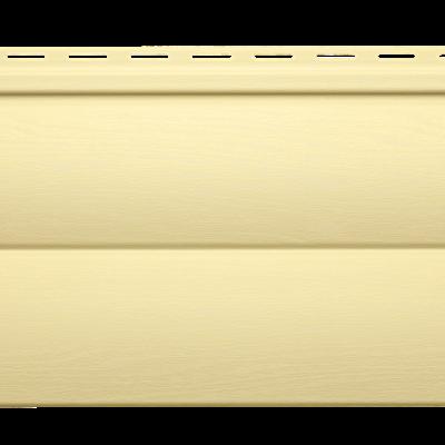 "panel sajding d4 5 blockhouse kremovyj 400x400 - Сайдинг D4,5"" Blockhouse- Кремовый"