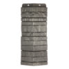 ugol tsokolnogo saydinga docke r stein antracit 100x100 - Угол наружный Docke коллекция Fels (Скала) Арктик