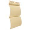 vinilovyj sajding docke profil blokhaus banan 100x100 - J-профиль Docke PREMIUM Пломбир 3м