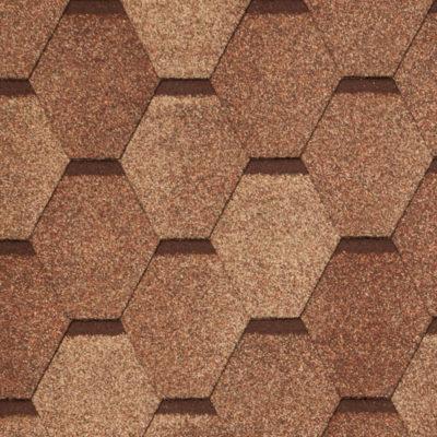 2 WEST dark clay 400x400 - Гибкая черепица Tegola Nobil Tile Вест - Терракота