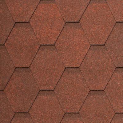 2 WEST dark red 400x400 - Гибкая черепица Tegola Nobil Tile Вест - Тёмно-красный