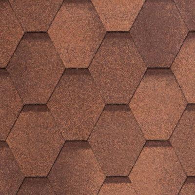 2 WEST red brown 400x400 - Гибкая черепица Tegola Nobil Tile Вест - Красно-коричневый