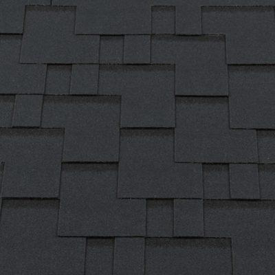 gibkaya cherepitsa premium modern barxotno chernyijj 400x400 - Гибкая черепица Roofshield  Премиум Модерн - Бархатно-чёрный