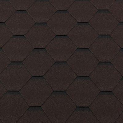 gibkaya cherepitsa premium standart korichnevyij s otteneniem 400x400 - Гибкая черепица Roofshield  Премиум Стандарт - Коричневый с оттенением