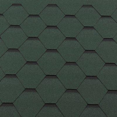 gibkaya cherepitsa premium standart zelenyij s otteneniem 400x400 - Гибкая черепица Roofshield  Премиум Стандарт - Зелёный с оттенением
