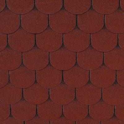 gibkaya cherepitsa roofshield femili lajt gotik krasnyj 400x400 - Гибкая черепица Roofshield  Фемили Лайт Готик - Красный