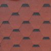 gibkaya cherepitsa roofshield femili lajt standart krasnyj s otteneniem 100x100 - Гибкая черепица Roofshield  Премиум Стандарт - Красный с оттенением