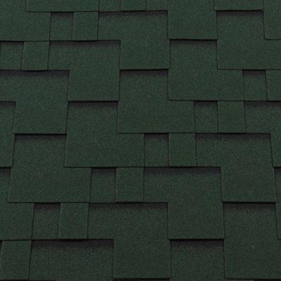 gibkaya cherepitsa roofshield klassik modern zelenyj s otteneniem 400x400 - Гибкая черепица Roofshield  Классик Модерн - Зеленый с оттенением