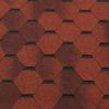 gibkaya cherepitsa roofshield klassik standart kirpichno krasnyj antik 100x100 - Гибкая черепица Roofshield  Премиум Модерн - Медный с оттенением
