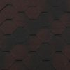 gibkaya cherepitsa roofshield klassik standart korichnevyj antik 100x100 - Гибкая черепица Roofshield  Премиум Модерн - Красный с оттенением