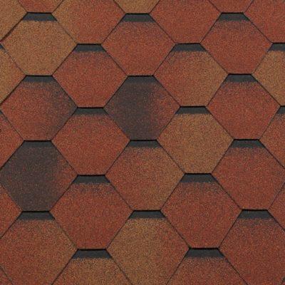 gibkaya cherepitsa roofshield klassik standart krasno korichnevyj 400x400 - Гибкая черепица Roofshield  Классик Стандарт - Красно - коричневый