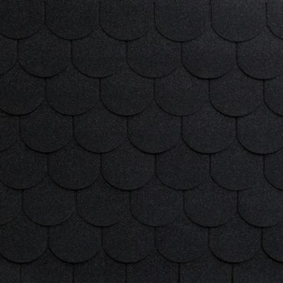 roofshield family eco light gotik grafitno chernyj 1 400x400 - Гибкая черепица Roofshield Фемили Эко Лайт Готик - Графитно-черный