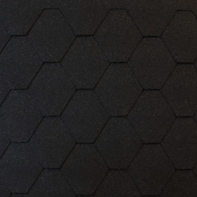 roofshield family eco light standart grafitno cherny 400x400 - Гибкая черепица Roofshield Фемили Эко Лайт Стандарт - Графитно-черный