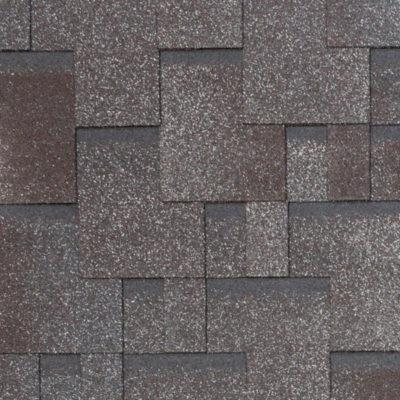 tegola nobil tile aktsent dark red grey brown 400x400 - Гибкая черепица Tegola Nobil Tile Акцент-Серо-коричневый