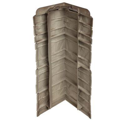 ugol tsokolnogo saydinga docke r stein antracit 1 400x400 - Угол наружный Docke коллекция Stein (Слоистый песчаник) Базальт