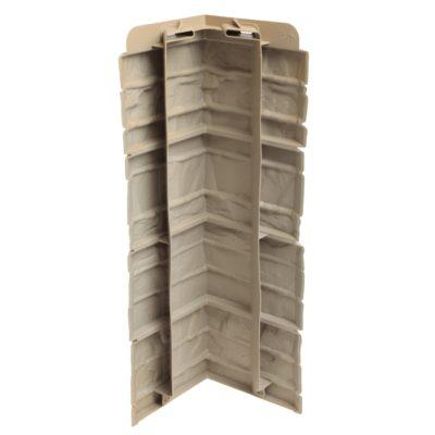 ugol tsokolnogo saydinga docke r stein bronzovij 3 400x400 - Угол наружный Docke коллекция Stein (Слоистый песчаник) Бронзовый