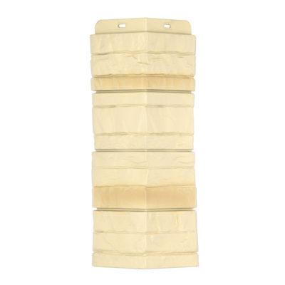 ugol tsokolnogo saydinga docke r stein yantarnij 400x400 - Угол наружный Docke коллекция Stein (Слоистый песчаник) Янтарный