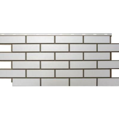 nordsajd fasad gladkij kirpich belyj 400x400 - Фасадная панель Гладкий кирпич - Белый