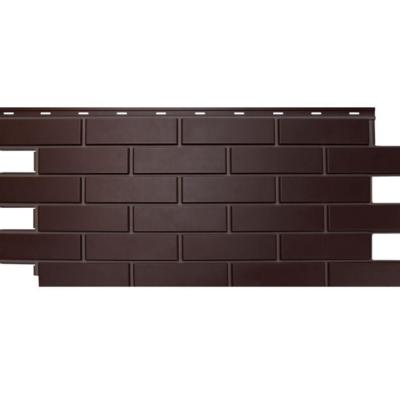 nordsajd fasad gladkij kirpich temno korichnevyj 400x400 - Фасадная панель Гладкий кирпич - Темно-коричневый