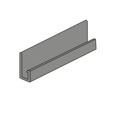 nordsajd j profil gladkij kirpich metall 400x400 - J-профиль Гладкий кирпич - Металлический
