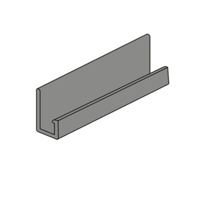 nordsajd j profil sever kamen metall 400x400 - J-профиль Северный камень - Металлический