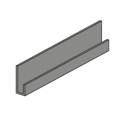 nordsajd startovaya planka 400x400 - Стартовая планка (металлическая) для фасадных панелей